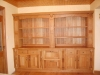 Oak sitting room unit