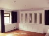 Panelled sitting room units and panelling