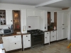 Handcrafted kitchen with walnut contrast