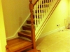 Oak stairs with painted oak spindles resized